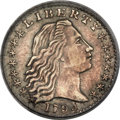 Early Half Dimes, 1794 H10C V-3, LM-3, R.4 -- PCGS Genuine....