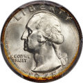 Washington Quarters, 1945-S 25C MS67+ PCGS. CAC....