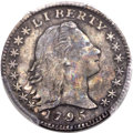 Early Half Dimes, 1795 H10C V-5, LM-8, R.3, VF30 PCGS....