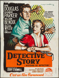 "Movie Posters:Crime, Detective Story (Paramount, 1951). French Grande (47"" X 62.5"").Crime.. ..."