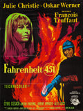 """Movie Posters:Science Fiction, Fahrenheit 451 (Universal, 1966). French Grande (46"""" X 61"""").Science Fiction.. ..."""