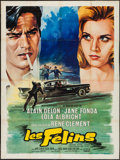"Movie Posters:Crime, Joy House (MGM, 1964). French Grande (47"" X 63""). Crime.. ..."