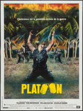 "Movie Posters:Academy Award Winners, Platoon (20th Century Fox, 1986). French Grande (47"" X 63"").Academy Award Winners.. ..."