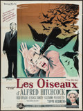 "Movie Posters:Hitchcock, The Birds (Universal International, 1963). French Grande (47"" X63""). Hitchcock.. ..."