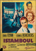 "Movie Posters:Adventure, Istanbul (Universal International, 1957). French Grande (45.25"" X63""). Adventure.. ..."