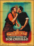 "Movie Posters:Foreign, The Little World of Don Camillo (Filmsonor, 1952). French Grande (47"" X 63""). Foreign.. ..."