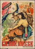 "Movie Posters:Adventure, North West Mounted Police (Paramount, 1950). First Post-War ReleaseItalian 2 - Foglio (39.25"" X 55""). Adventure.. ..."