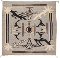 American Indian Art:Weavings, A Navajo Pictorial Weaving...