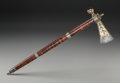 American Indian Art:Pipes, Tools, and Weapons, An Eastern Woodlands Pipe Tomahawk. c. 1760...