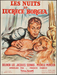 "The Nights of Lucretia Borgia (Columbia, 1960). French Grande (47"" X 62""). Romance"