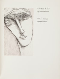 Samuel Beckett. Company. With 13 Etchings by Dellas Henke. [Iowa: Iowa Center for the Book, 198