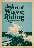 Books:Sporting Books, [Surfing]. Ron Drummond. The Art of Wave Riding. Hollywood: Cloister Press, 1931. First edition of the first b...