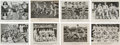 Baseball Cards:Sets, Unique 1913 - 1914 Sophomore Perfect Clothes Advertising Cards(17). ...