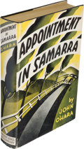 Books:Literature 1900-up, John O'Hara. Appointment in Samarra. New York: Harcourt,Brace and Company, [1934]. First edition, first printing of...