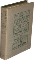 Books:Literature 1900-up, Jack London. The Call of the Wild. New York: MacmillanCompany, 1903. First edition. ...