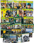 Football Collectibles:Publications, 1960-2015 Green Bay Packers Yearbooks Set of 56....