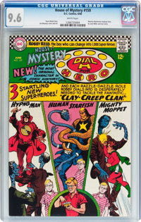 House of Mystery #159 (DC, 1966) CGC NM+ 9.6 White pages