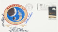"Explorers:Space Exploration, Apollo 14 Crew-Signed ""Type One"" Insurance Cover...."