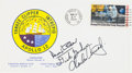 "Explorers:Space Exploration, Apollo 12 Rare Crew-Signed ""Type Three"" Insurance Cover Originallyfrom the Personal Collection of Mission Lunar Module Pilot ..."