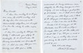 Autographs:Celebrities, A Very Personal Charles Lindbergh Autograph Letter Signed to HaroldE. Gray, Chairman and Chief Executive Officer of Pan Ameri...