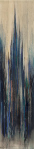 Texas:Early Texas Art - Modernists, David Brownlow (American, 1915-2006). Untitled (CathedralAbstractions), 1959. Oil on masonite. 47-1/2 x 12 inches(120....