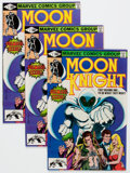 Modern Age (1980-Present):Superhero, Moon Knight #1 Group of 16 (Marvel, 1980) Condition: AverageVF+.... (Total: 16 Comic Books)