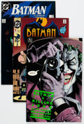 Modern Age (1980-Present):Superhero, Batman-Related Group of 35 (DC, 1986-92) Condition: Average NM-....(Total: 35 Comic Books)