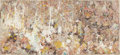 Post-War & Contemporary, Larry Poons (American, b. 1937). Abstract, 1990. Acrylic andmixed media on canvas. 26-1/4 x 57 inches (66.7 x 144.8 cm)...