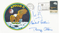 "Explorers:Space Exploration, Apollo 11 Crew-Signed ""Type Three"" Insurance Cover. ..."