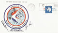 Explorers:Space Exploration, Apollo 15 Crew-Signed Insurance Cover Originally from the PersonalCollection of Mission Command Module Pilot Al Worden, Signe...