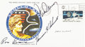 "Explorers:Space Exploration, Apollo 17 Crew-Signed Insurance ""Type"" Cover Originally from thePersonal Collection of Pam Evans, Sister of Mission Command M..."