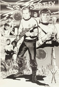 Memorabilia:Poster, Gray Morrow Star Trek Poster (Gray Morrow, 1973)....
