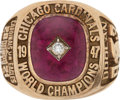 Football Collectibles:Others, 1947 Chicago Cardinals NFL Championship Reunion Ring Presented to Halfback John Doolan....
