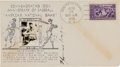 Baseball Collectibles:Others, 1939 Honus Wagner Signed First Day Cover. ...