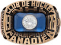 Hockey Collectibles:Others, 1976 Montreal Canadiens Stanley Cup Championship Salesman's Sample Ring....
