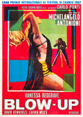 "Movie Posters:Thriller, Blow-Up (MGM, 1967). Italian 4 - Foglio (54.75"" X 78.5"").. ..."