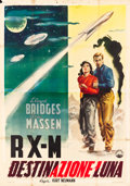 """Movie Posters:Science Fiction, Rocketship X-M (Capital Pictures, 1950). Italian 4 - Foglio (53"""" X76.5"""").. ..."""