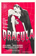 "Movie Posters:Horror, Dracula (Universal, R-1960s). One Sheet (27"" X 41.5"").. ..."