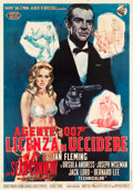 "Movie Posters:James Bond, Dr. No (United Artists, 1962). Italian 2 - Foglio (37.5"" X53.75"").. ..."