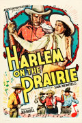 "Movie Posters:Black Films, Harlem on the Prairie (Associated Features, 1937). One Sheet (27"" X41"").. ..."