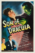 "Movie Posters:Horror, Son of Dracula (Universal, 1943). One Sheet (27.25"" X 41"").. ..."