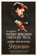 "Movie Posters:Hitchcock, Spellbound (United Artists, 1945). One Sheet (27.25"" X 41.25"").. ..."