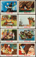 "Movie Posters:Animation, Peter Pan (RKO, 1953). British Front of House Color Photo Set of 8(8"" X 10"").. ... (Total: 8 Items)"