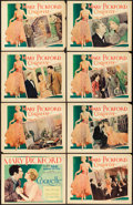 "Movie Posters:Drama, Coquette (United Artists, 1929). Lobby Card Set of 8 (11"" X 14"")..... (Total: 8 Items)"