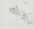 Animation Art:Production Drawing, The Banana Splits in Hocus Pocus Park Animation DrawingGroup of 4 (Hanna-Barbera, 1972)....