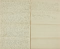 Books:Manuscripts, [Economics]. Manuscript Treatise on the Nature of Currency and Exchange. Unsigned, undated, circa 1900. ...