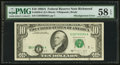 Error Notes:Shifted Third Printing, Fr. 2028-E $10 1988A Federal Reserve Note. PMG Choice About Unc 58EPQ.. ...