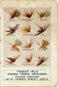 Miscellaneous:Catalogs, [Angling]. Fly-Fishing Tackle Catalogue from Ogden Smiths. London: [n.d., circa 1918]. ...