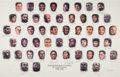 Basketball Collectibles:Photos, 1996 NBA's 50 Greatest Players Signed Lithograph. ...