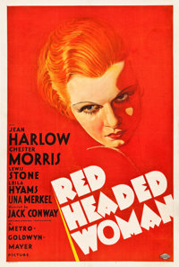 "Red Headed Woman (MGM, 1932). One Sheet (27"" X 41"") Style C"